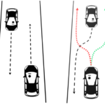 Deconfliction of Motion Paths with Traffic Inspired Rules in Robot–Robot and Human–Robot Interactions