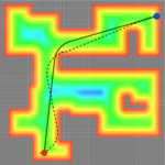 Gradient-Informed Path Smoothing for Wheeled Mobile Robots