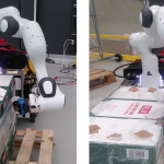 Flexible Automated Depalletizing: an Unwrapping Robot to Remove Plastic from Palletized Goods