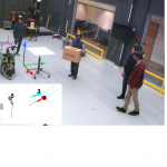 THÖR: Human-Robot Navigation Data Collection and Accurate Motion Trajectories Dataset